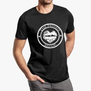 The Private Affair Black Unisex T-Shirt