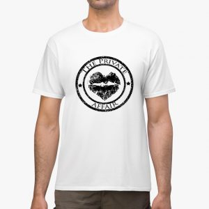 The Private Affair White Unisex T-Shirt