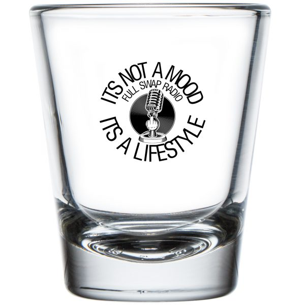 FullSwapRadio.com Shot Glass