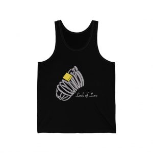 lock of love unisex-jersey-tank front