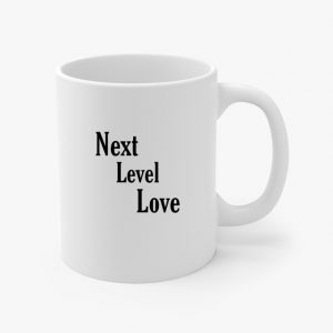 next level love coffee cup