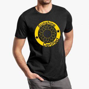 Sunshine Certified Black Unisex T-Shirt