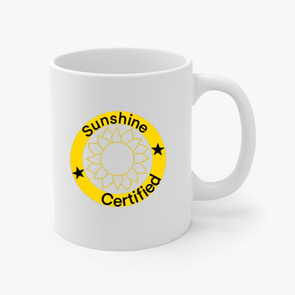 Sunshine Certified Coffee Mug